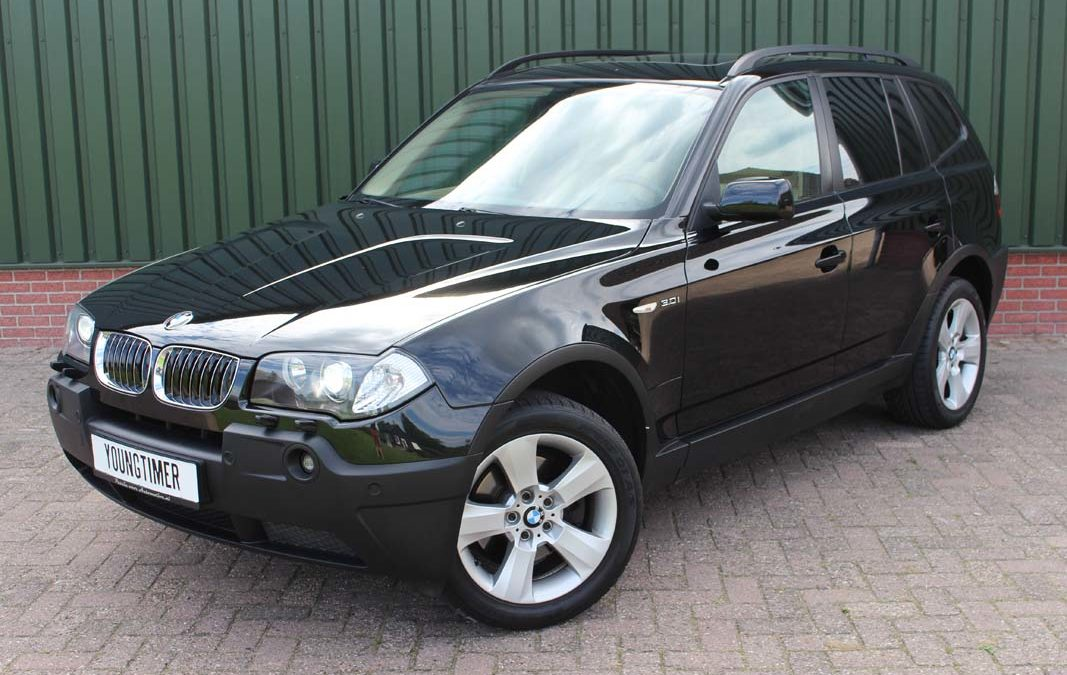 BMW X3 3.0i aut. High Executive Youngtimer