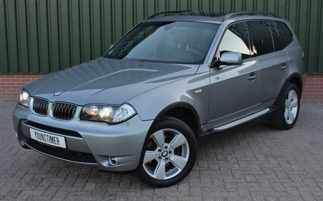 BMW X3 3.0i High Exe automaat youngtimer