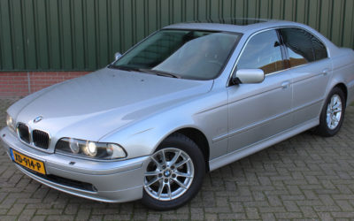BMW 525i Special Edition youngtimer