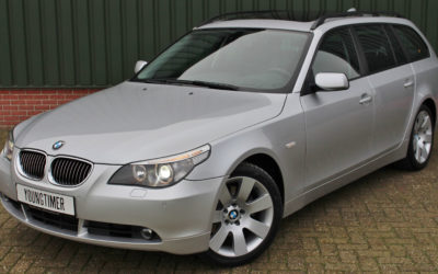 BMW 530D Shadow Line High Exe youngtimer