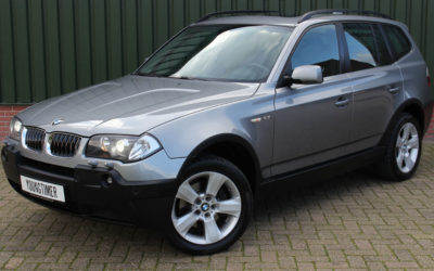BMW X3 2.5i aut High Executive youngtimer