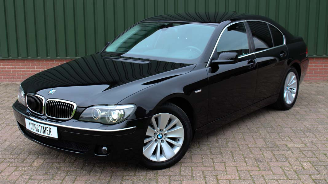 BMW 730D euro 4 youngtimer in concoursstaat!